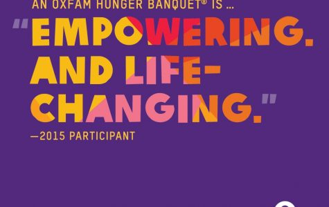 The Oxfam Hunger Banquet in Pictures