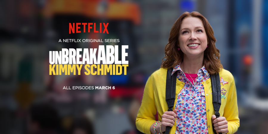 Netlifx+poster+of+the+show+Unbreakable+Kimmy+Schmidt