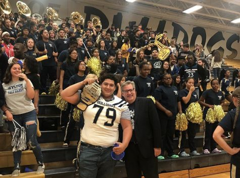 Hylton Football Featured in WJLA's Game of the Week