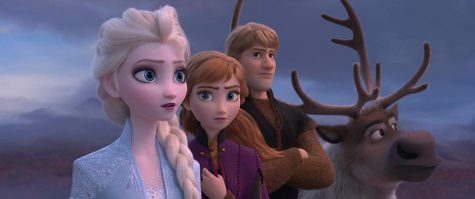 Screenshot of a scene in Frozen 2