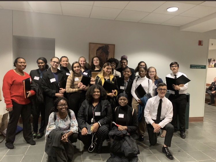 Hylton Model United Nations Club Goes to William & Mary University Conference