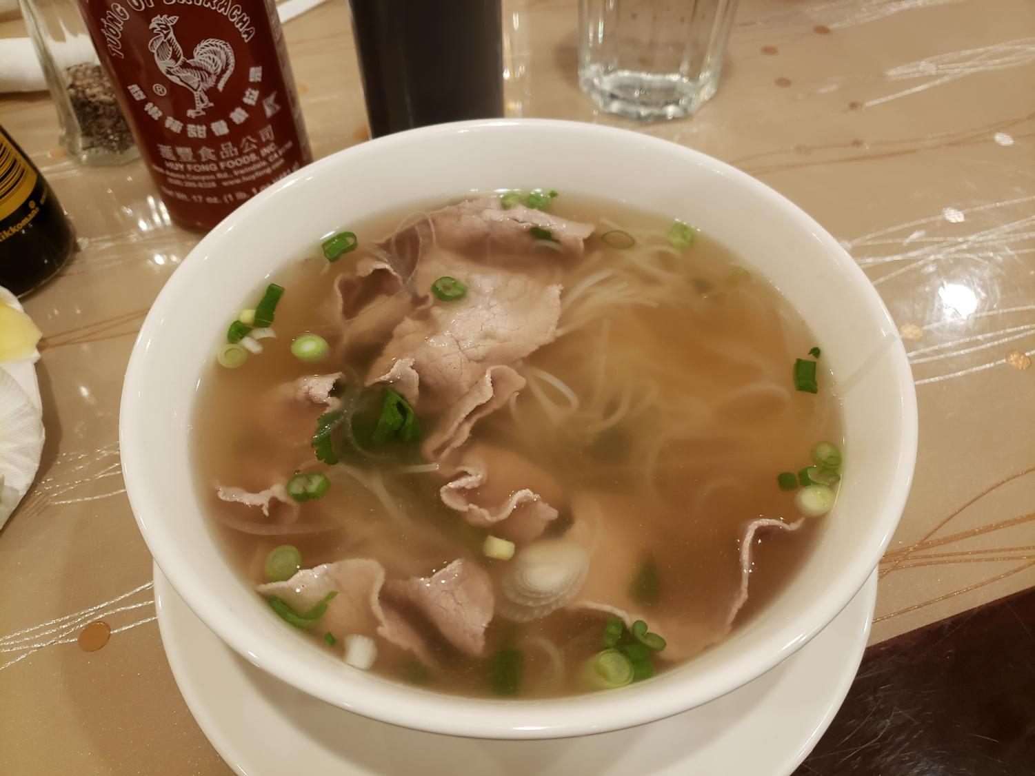 A bowl of Pho from Viet Fortune