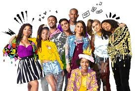 A picture of the Grown-ish Cast