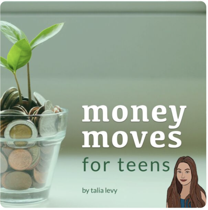 Money Moves for Teens podcast cover photo.